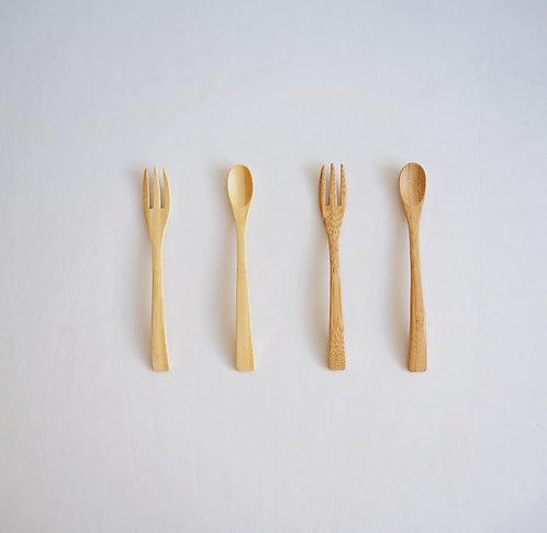 S の 竹材餐具