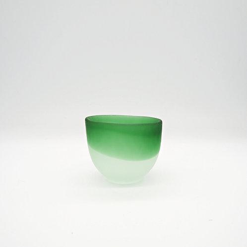 玻璃酒杯 - 綠
