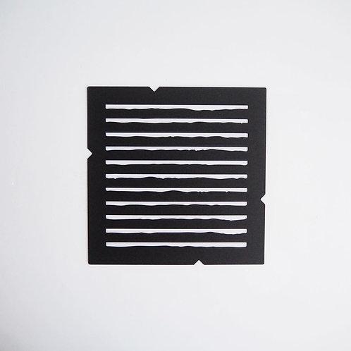 線型紙模版