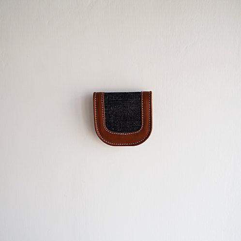 皮革 x 牛仔布 - 散紙包