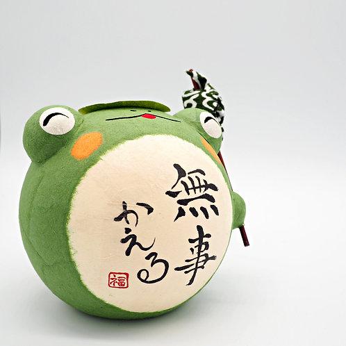 日本和紙青蛙裝飾