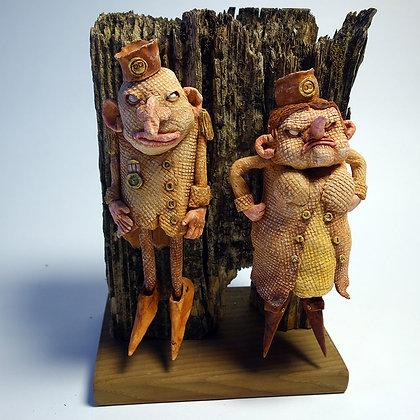 'Mr & Mrs Ubu' by Dik Downey