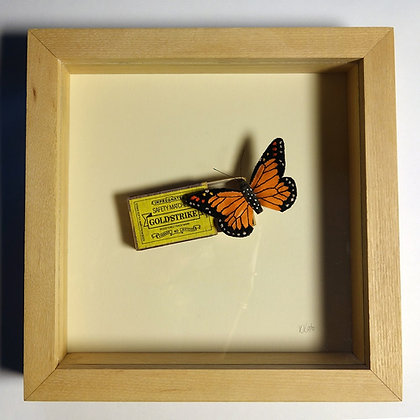 'Butterfly and Matchbox' by Kate Kato