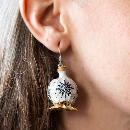 'Resurrection After Death' Earrings by Her Mother the Mountain