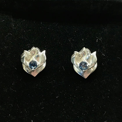 'Hope Flame' Earrings by Norma Kerr