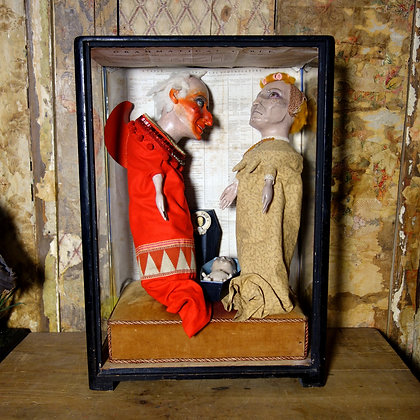 'Punch, Judy  and the Baby' by Circo Gringo