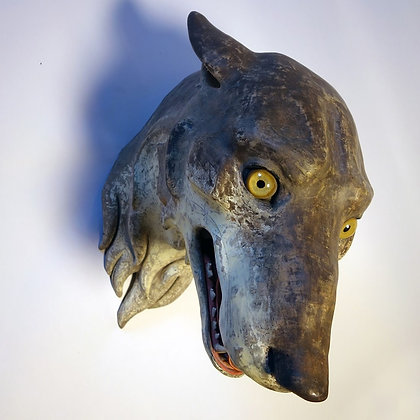 'Wolf' Mask by Circo Gringo