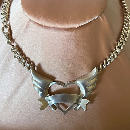 'Open Hearted' Necklace by Norma Kerr
