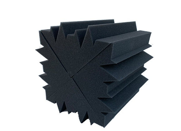 Acoustic Soundproof Foam Charcoal Bass Absorption