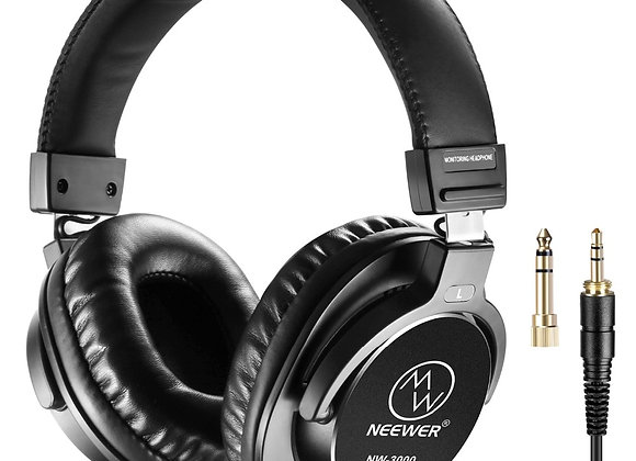 Neewer Studio Monitor Headphones 10Hz-26kHz