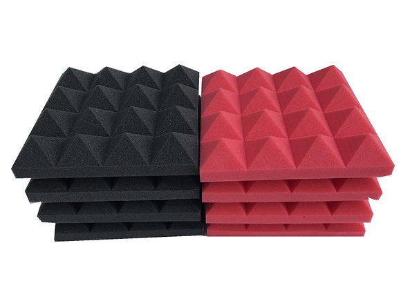 Studio Acoustic Soundproof Foam Pyramid Sound Absorption Treatment Panel