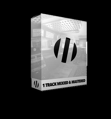 1-Track Professionally Mixed & Mastered
