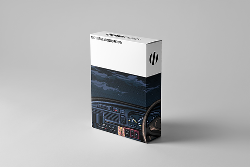 Night Drive (MIDI Loop Kit)