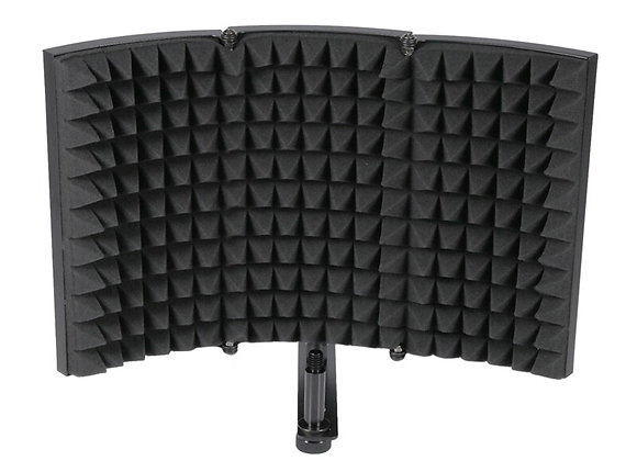 Folding Studio Microphone Isolation Shield