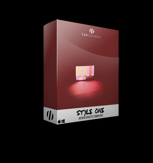 style one after effects template