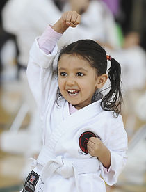 Keiko Martial Arts Dragon Program - age 3 and up Karate Girl