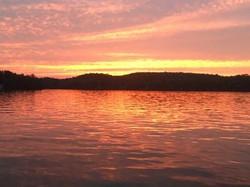 Sunset Lake Kipawa