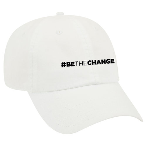 Be The Change Dad Hat