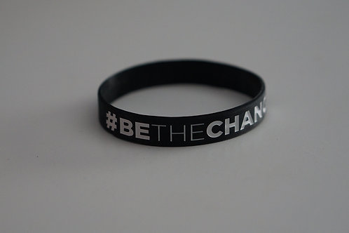 Be The Change Wrist Bands 2 per order
