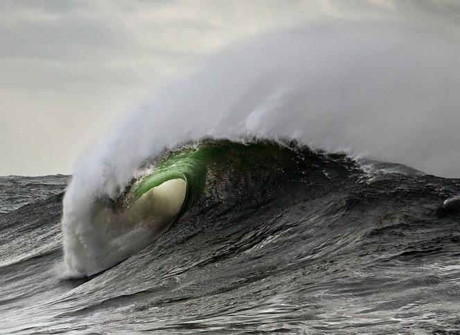 """Storm Curl"", Avoca Beach, NSW"