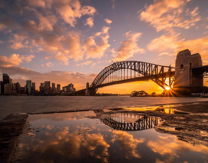 """Kirribilli Sunset""  Sydney, NSW"