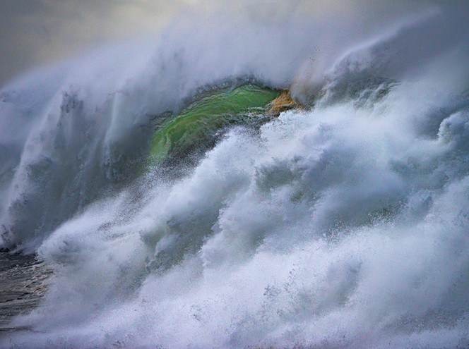 """Eye of the Barrel"", Avoca Beach, NSW"