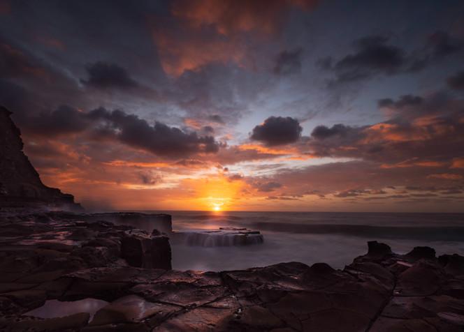 """Sultry Sunrise"" North Avoca, NSW"