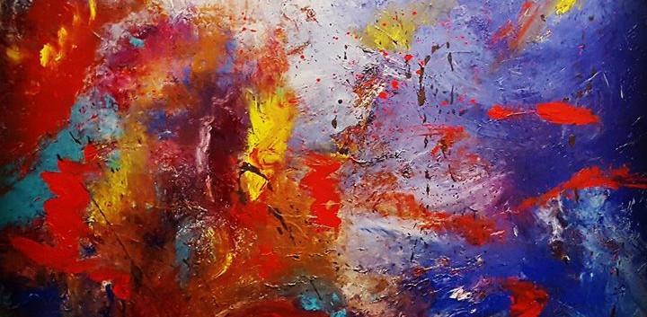 Hatching Fire_Original Art by Heather Th