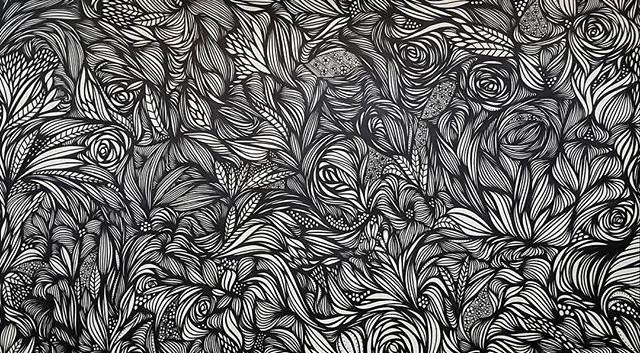 Garden of Opulence_24x36_Original art by