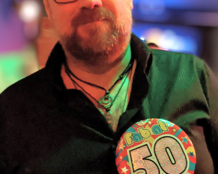 Festive 50th birthday at the Frigate