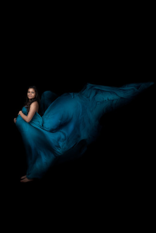 Maternity Silk Portrait
