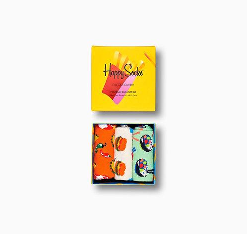 HAPPY SOCKS Food Lover Pack
