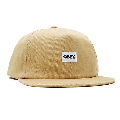 OBEY Bold Label Organic Snapback