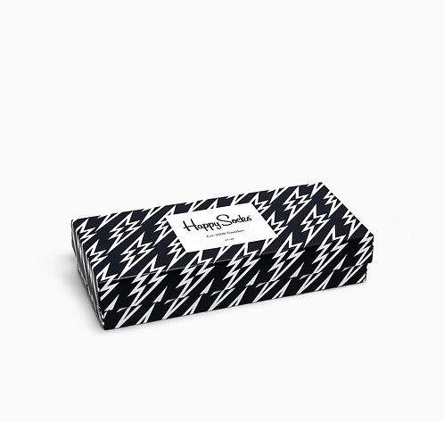 HAPPY SOCKS Pack Black And White