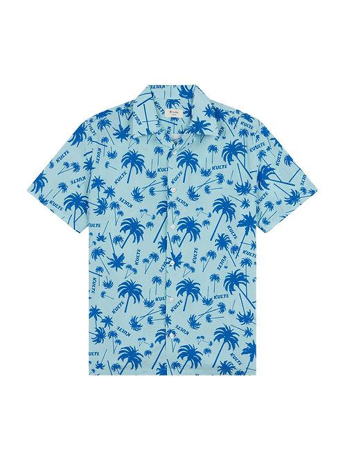 KULTE Hawai All Over Palm Shirt