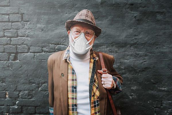 Mascara de protección anti bacterias aworldinone