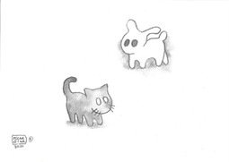9: Shadow Cat × Light Rabbit