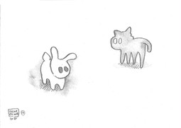 17: Shadow Cat × Light Rabbit