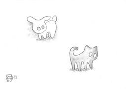 13: Shadow Cat × Light Rabbit
