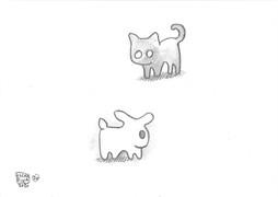 20: Shadow Cat × Light Rabbit