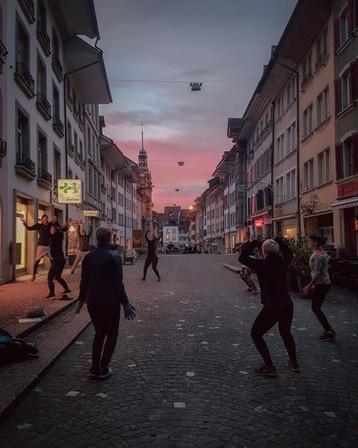 Outdoortraining Lenzburg Altstadt