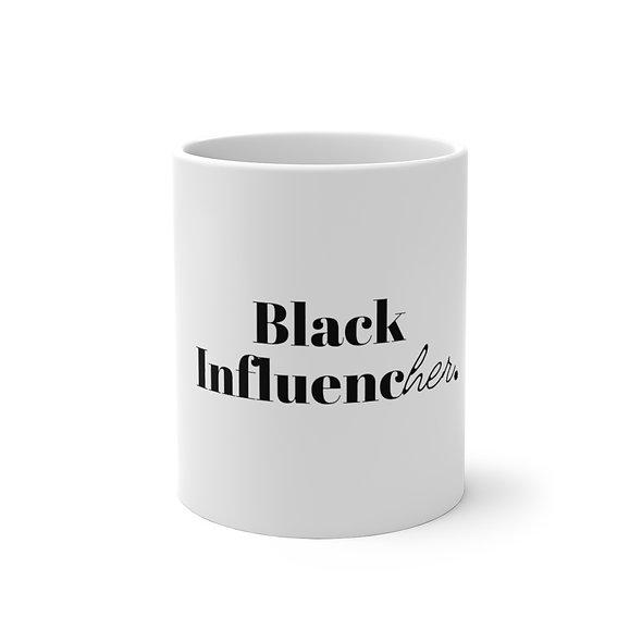 Black InfluencHER Color Changing Mug