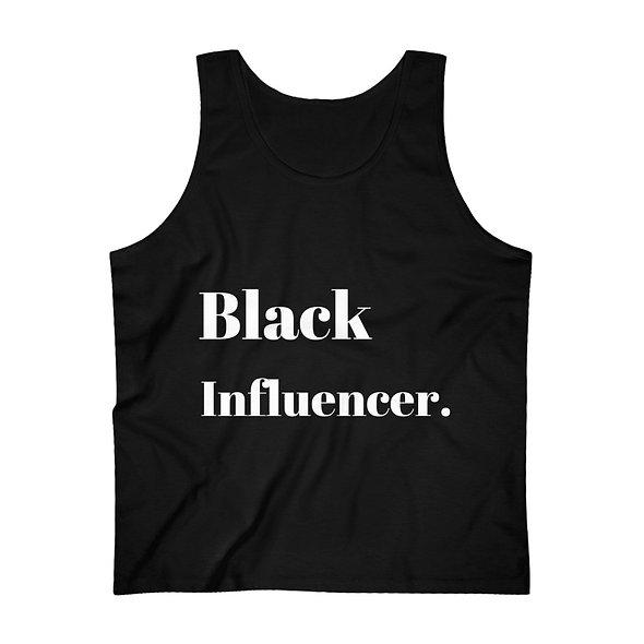 Black Influencer Men's Ultra Cotton Tank Top