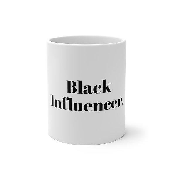 Black Influencer Color Changing Mug