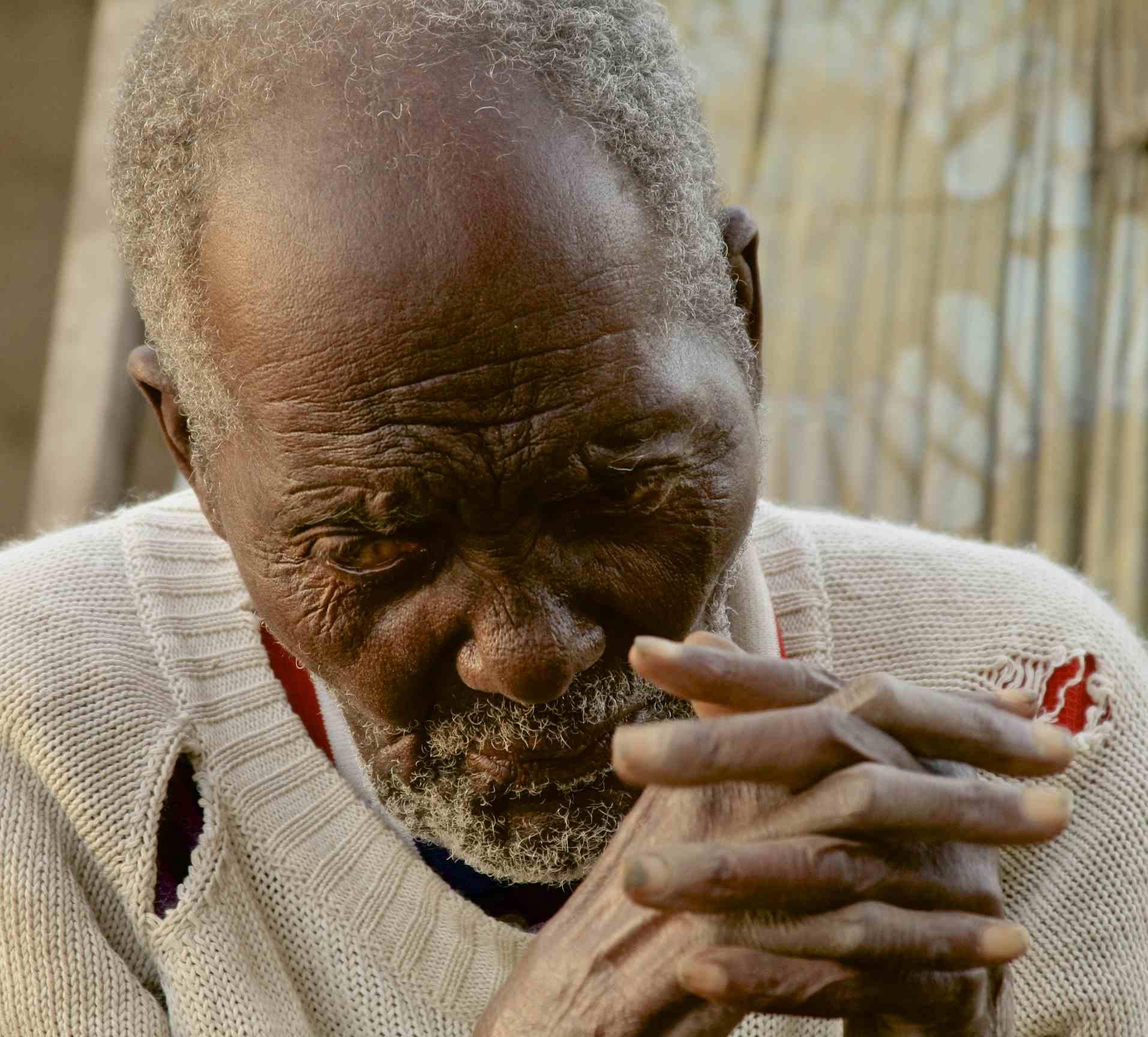 100 year old Tongwe elder