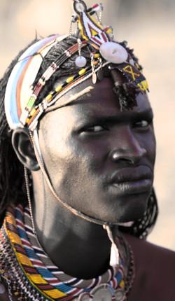 Laikpiak Maasai Warrior