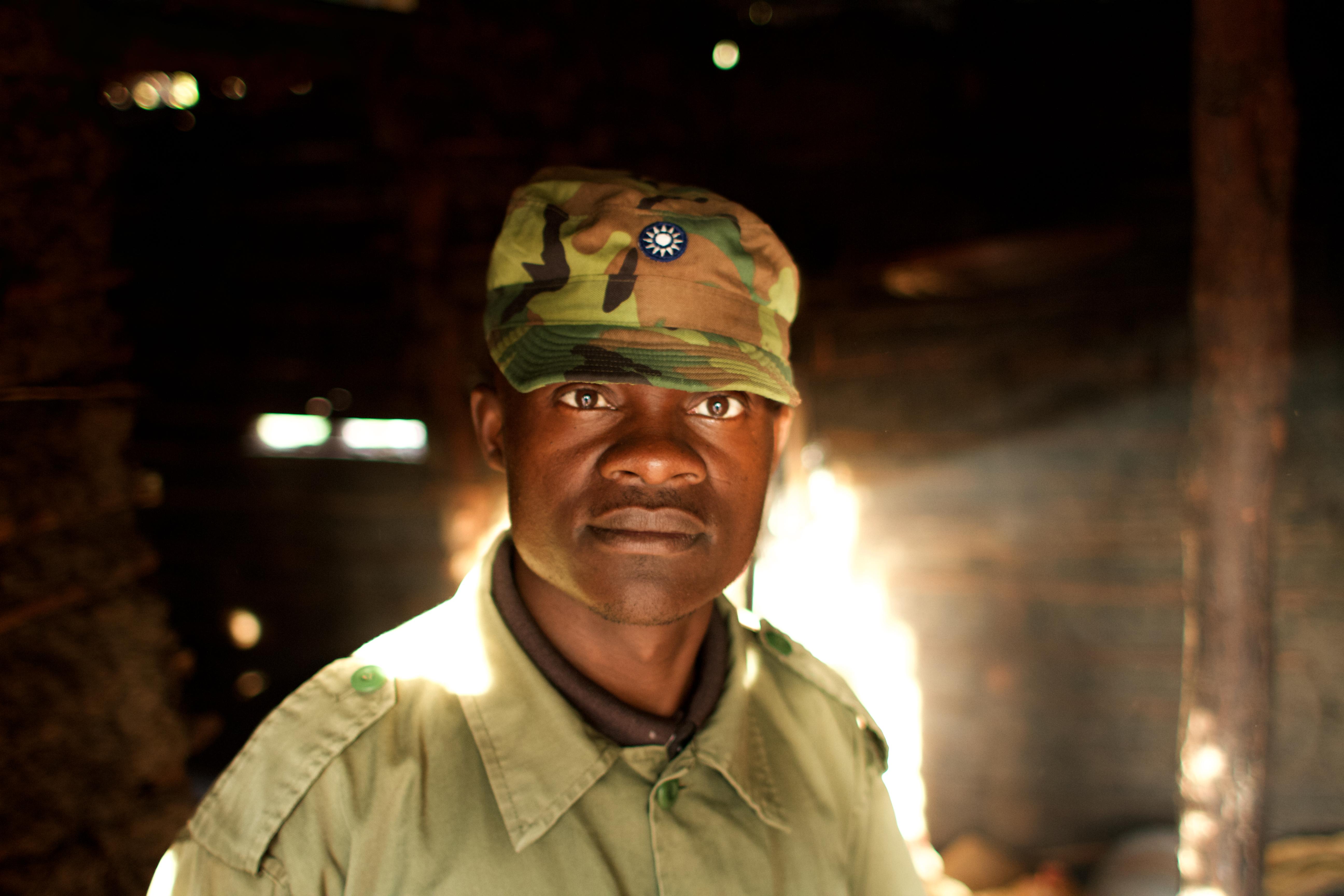 Tongwe Trust ranger, Tanzania