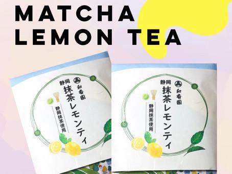 WACOOEN「抹茶レモンティ」