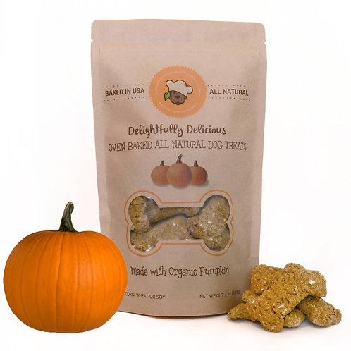Oven Baked Organic Pumpkin Dog Treat