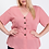 Thumbnail: Plus Size Pink Peplum Top
